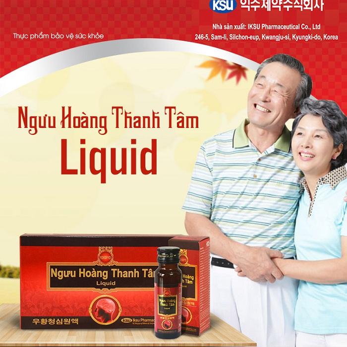 Ngưu hoàng thanh tâm Liquid của Hàn Quốc
