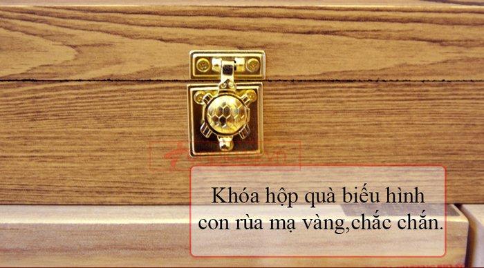 Bổ não 60 viên hộp gỗ Hàn Quốc A036 5